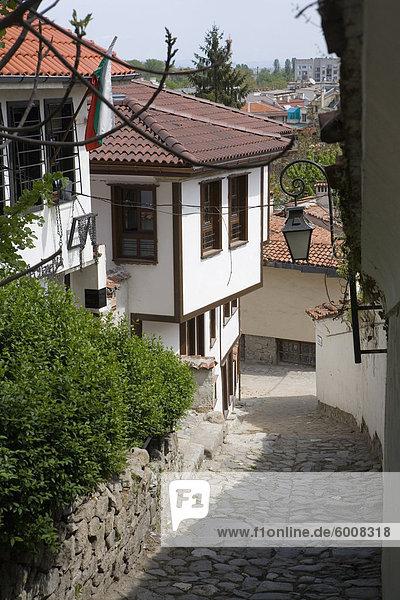 Europa Altstadt Bulgarien Plovdiv