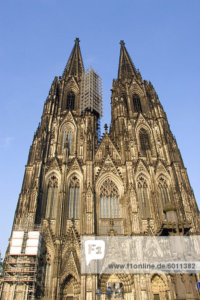 Kölner Dom  Köln  UNESCO-Welterbe Site  Nordrhein Westfalen  Deutschland  Europa Kölner Dom, Köln, UNESCO-Welterbe Site, Nordrhein Westfalen, Deutschland, Europa