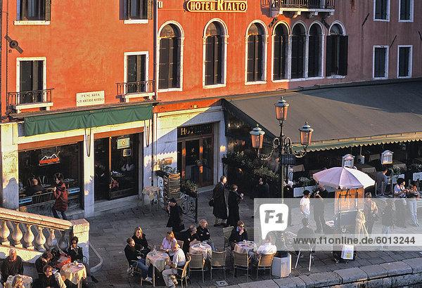 Hotel Rialto  Venedig  Veneto  Italien  Europa