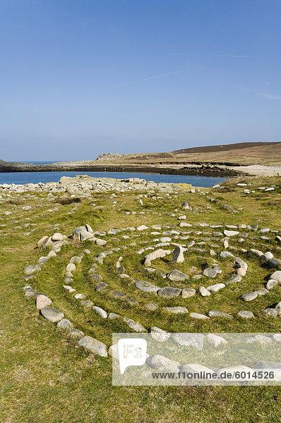 Bryer (Bryher)  Isles of Scilly  aus Cornwall  Vereinigtes Königreich  Europa