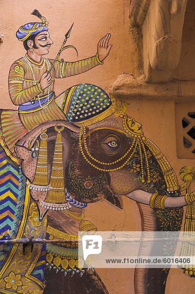 Mann Wohnhaus Kunst Dekoration Mensch typisch Asien Indien Udaipur Mann,Wohnhaus,Kunst,Dekoration,Mensch,typisch,Asien,Indien,Udaipur