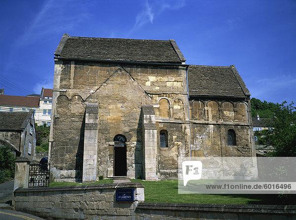 Sächsischen Kirche  Bradford-on-Avon  Wiltshire  England  Vereinigtes Königreich  Europa