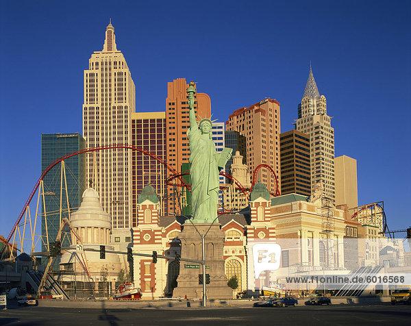 New York New York Hotel in Las Vegas  Nevada  United States of America  North America