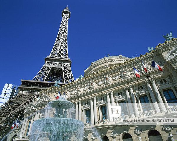 Paris Hotel and Casino  Nevada  Las Vegas  United States of America  North America