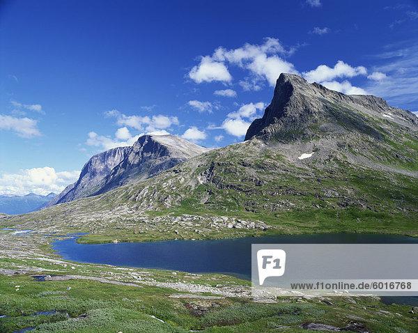 Trollstigen Mountains  Norway  Scandinavia  Europe