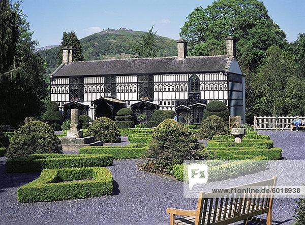 Europa Wohnhaus Großbritannien Llangollen Wales