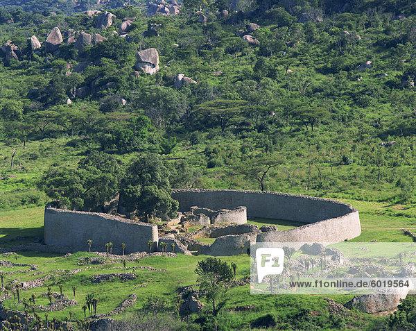 Groß-Simbabwe  UNESCO World Heritage Site  Zimbabwe  Afrika