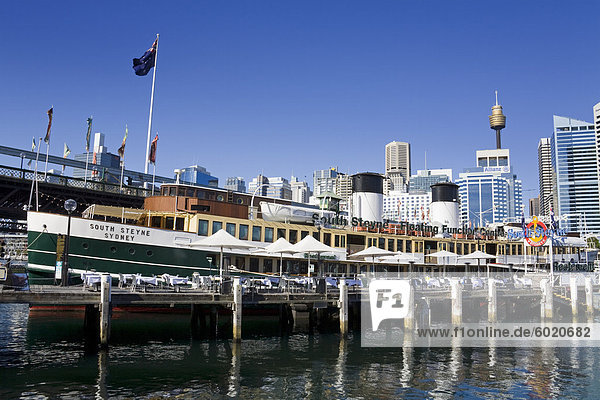 South Steyne Restaurant and Bar in Darling Harbour  Central Business District  Sydney  New South Wales  Australia  Pacific