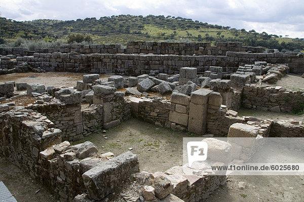 Ausgrabung der römischen Ausgrabungsstätte in Europa  Portugal  Idanha-a-Velha (Website von Roman Egitania)  Beira Baixa