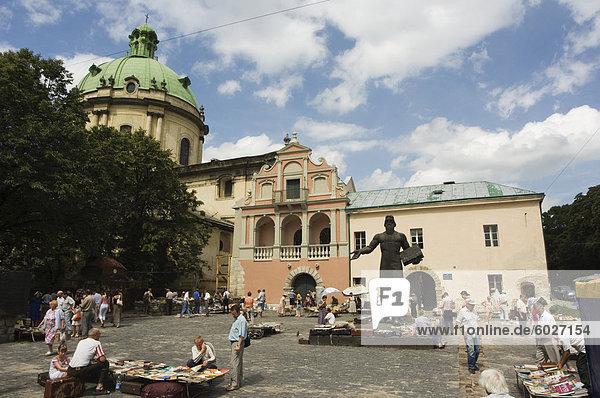 Europa  Kirche  Altstadt  Barock  Dominikanische Republik  UNESCO-Welterbe  Lemberg  Kloster  Ukraine