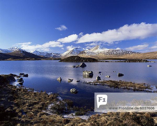 Lochan Na H-Achlaise  Rannoch Moor  Strathclyde  Schottland  Vereinigtes Königreich  Europa