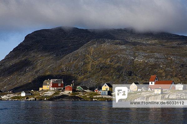 Hafen von Nanortalik  Insel von Qoornoq  Provinz Kitaa  Süden von Grönland  Dänemark  Polarregionen