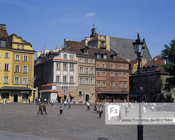 Altstadt  Warschau  Polen  Europa