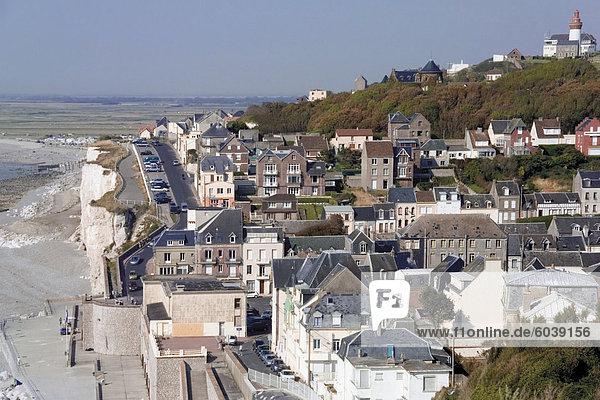 Seaside Stadt Ault  Picardie  Frankreich  Europa