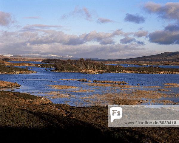 Loch Ba  Rannoch Moor  Strathclyde  Schottland  Vereinigtes Königreich  Europa