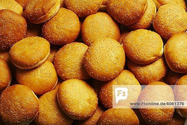 Haufen von donuts