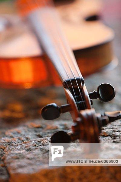 Close-up Geige
