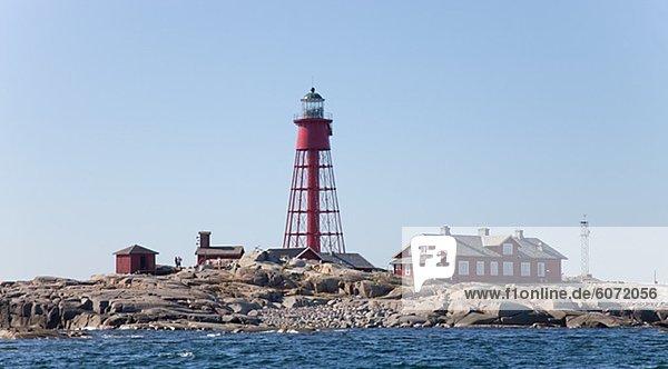 Küste Leuchtturm