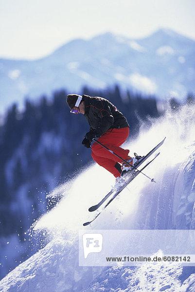 Mann  Skisport  Utah