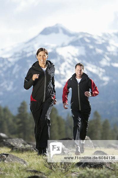Berg  folgen  rennen  Athlet  Hintergrund  Kalifornien