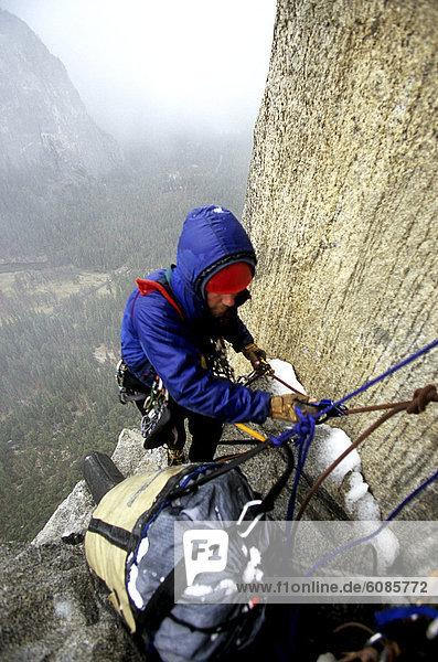 nass  Produktion  Schnee  Klettern  Yosemite Nationalpark  Anstieg  Kalifornien  Fahrgestell