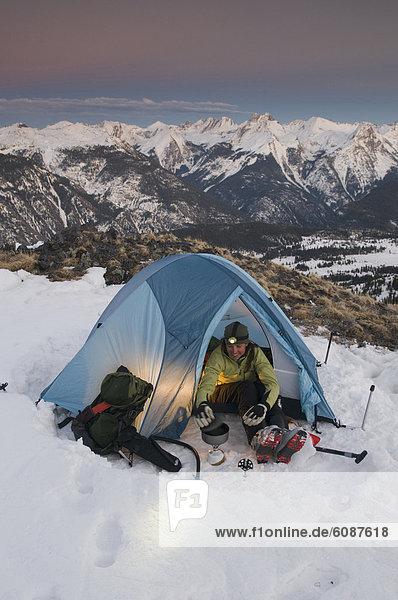 kochen  Frau  camping  Zelt  Gericht  Mahlzeit  Colorado  San Juan National Forest