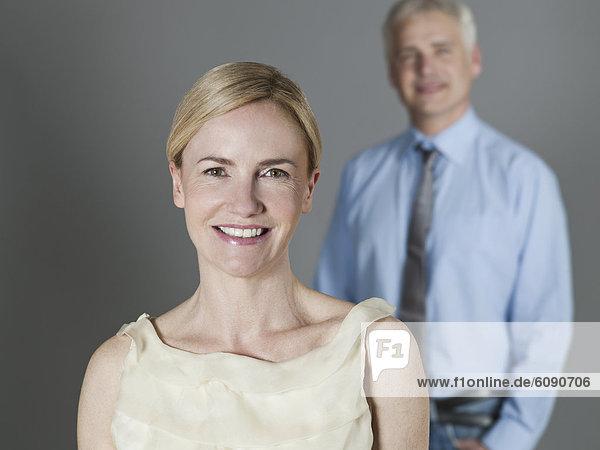 Erwachsenes Paar lächelnd  Portrait
