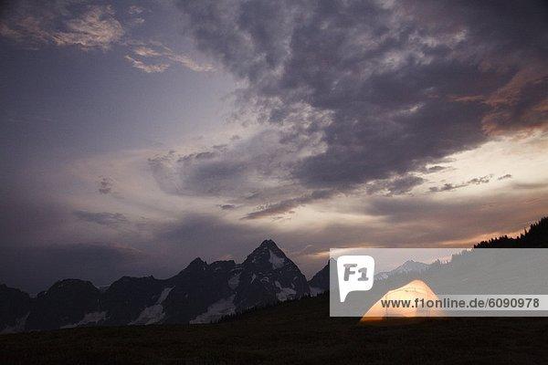 Berg  Hintergrund  Selkirk Mountains