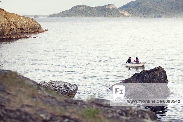 klein  Boot  Insel  jung  Geräusch  Schwertwal  Orcinus orca
