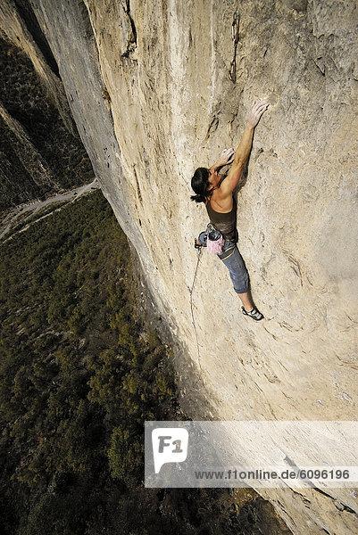 Felsbrocken  aufwärts  Mexiko  Klettern  steil