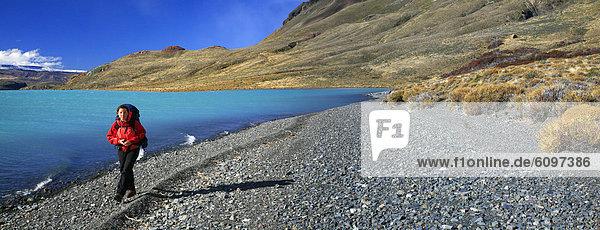 wandern  See  Argentinien