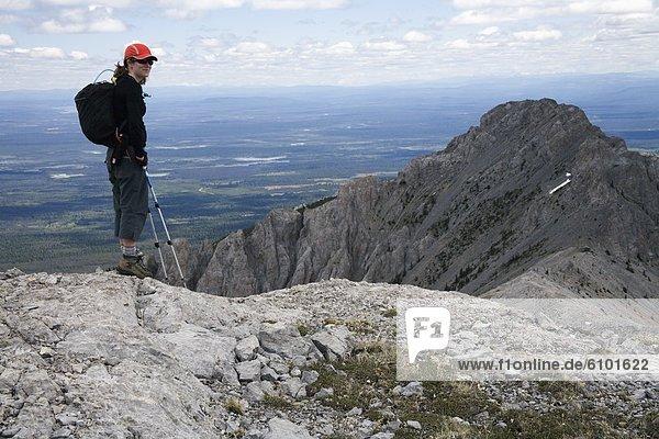 Berg  Bewunderung  wandern  Ansicht