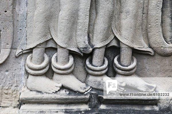 Stein  schnitzen  Angkor  Kambodscha