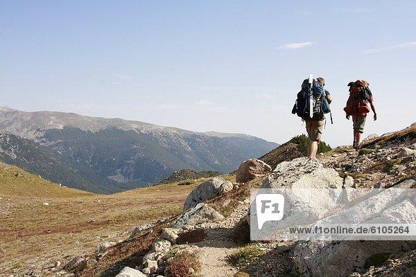 Berg  Reise  Rucksackurlaub