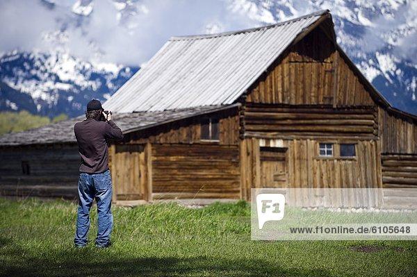 Nationalpark Fotografie nehmen Ehrfurcht Geschichte Scheune Fotograf