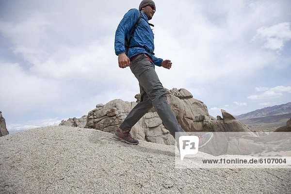 Felsbrocken  Tal  wandern  groß  großes  großer  große  großen