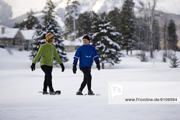Kanada  Schneeschuhlaufen