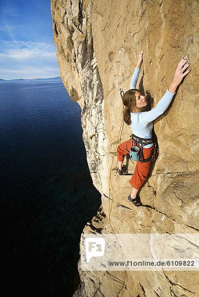 halten  geben  Klettern