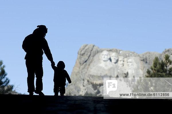 nahe  Frau  Berg  Mount Rushmore