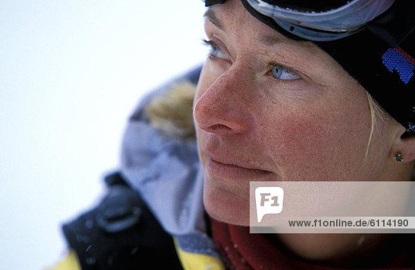 Portrait  Kleidung  Skifahrer  Ski