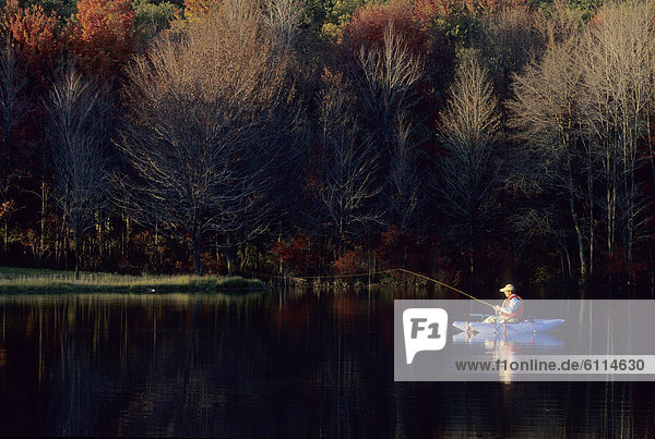Mensch  angeln  Pennsylvania