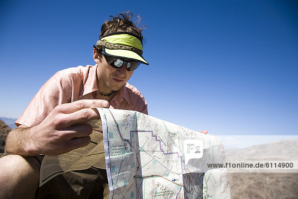 Nationalpark Berggipfel Gipfel Spitze Spitzen Landkarte Karte hoch oben wandern Death Valley Nationalpark