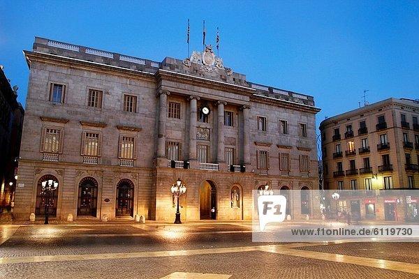 Halle  Großstadt  Quadrat  Quadrate  quadratisch  quadratisches  quadratischer  Barcelona  Katalonien  Spanien