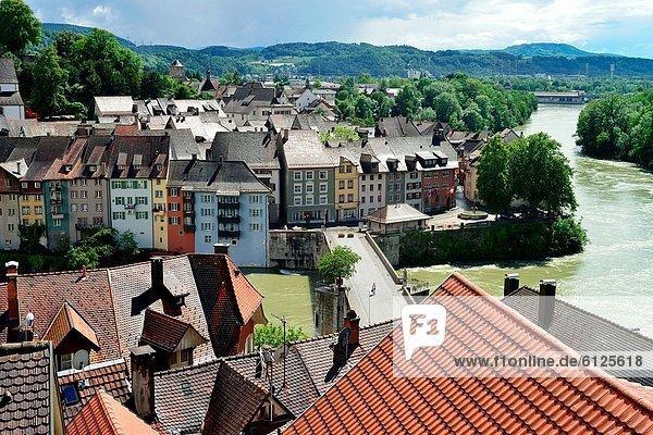 weiß Kirche rot Deutschland Schweiz