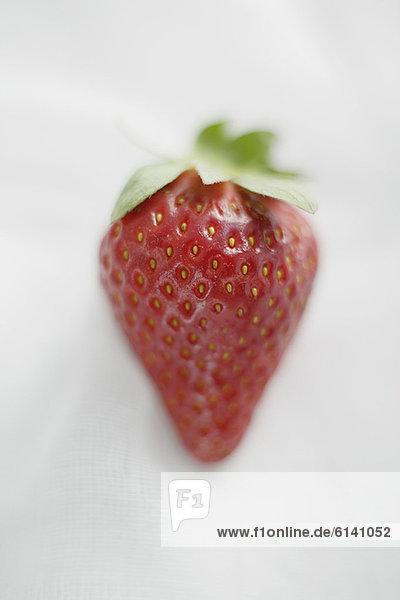 Nahaufnahme von Erdbeere