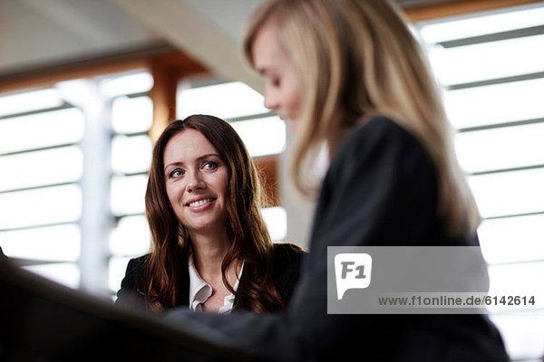 Unternehmerinnen im Gespräch