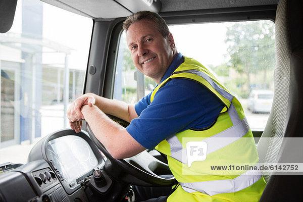 Lkw-Fahrer  Portrait