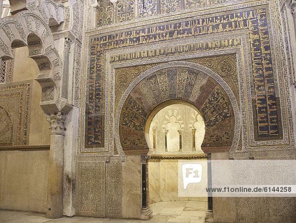 La Mezquita  CÛrdoba  Andalusien  Spanien  Europa