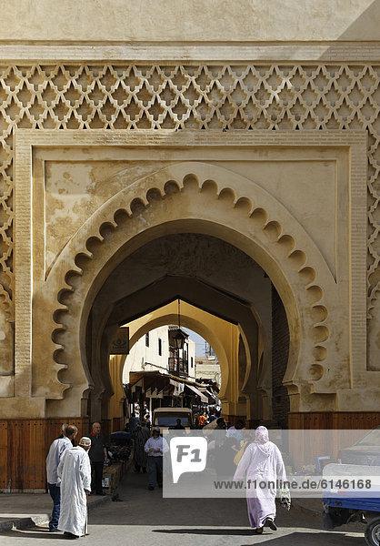 Bab as-Semmarine  FËs or Fez  FËs-Boulemane  Morocco  Maghreb  North Africa  Africa