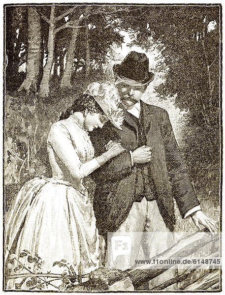 Romantische zeichnung aus england 19 jahrhundert ein for Mobel 19 jahrhundert